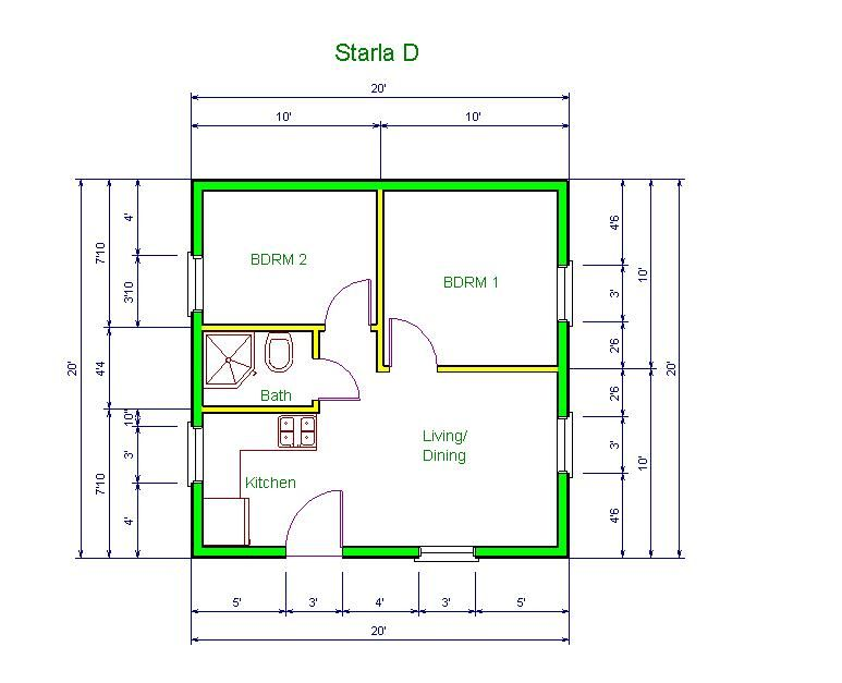 Tranquil Cottages Tranquil Floor Plans Tiny House Floor Plans