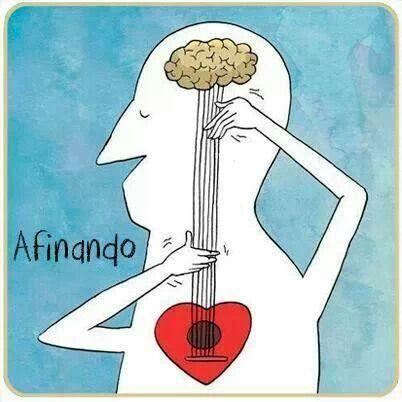 Siempre tienemos que afinar nuestro cerebro con el corazón.