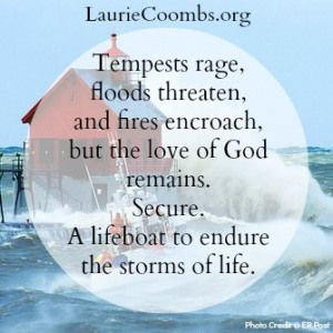 Today's Post: A Lifeboat to Endure the Storms of Life http://wp.me/p34oIP-M6