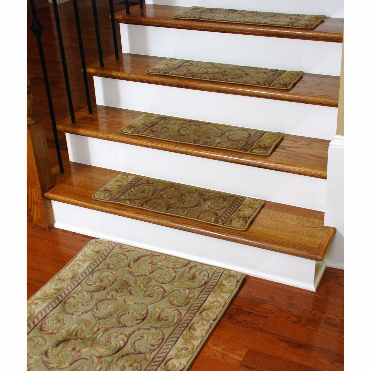 Stair Rugs Treads Carpet Staircase Pinterest