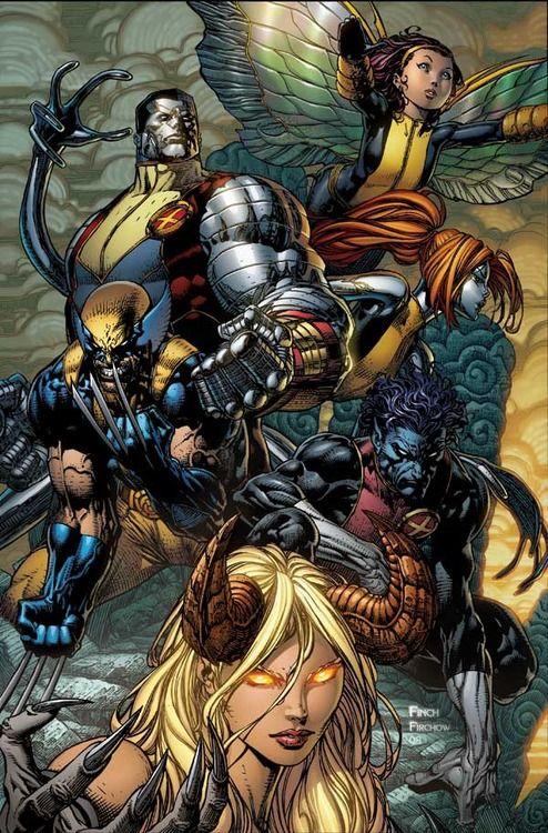 comicblah:  X-Infernus #2 cover by David Finch & Steve Firchow