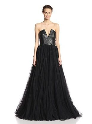 langhem women's chelsea corset gown black with images
