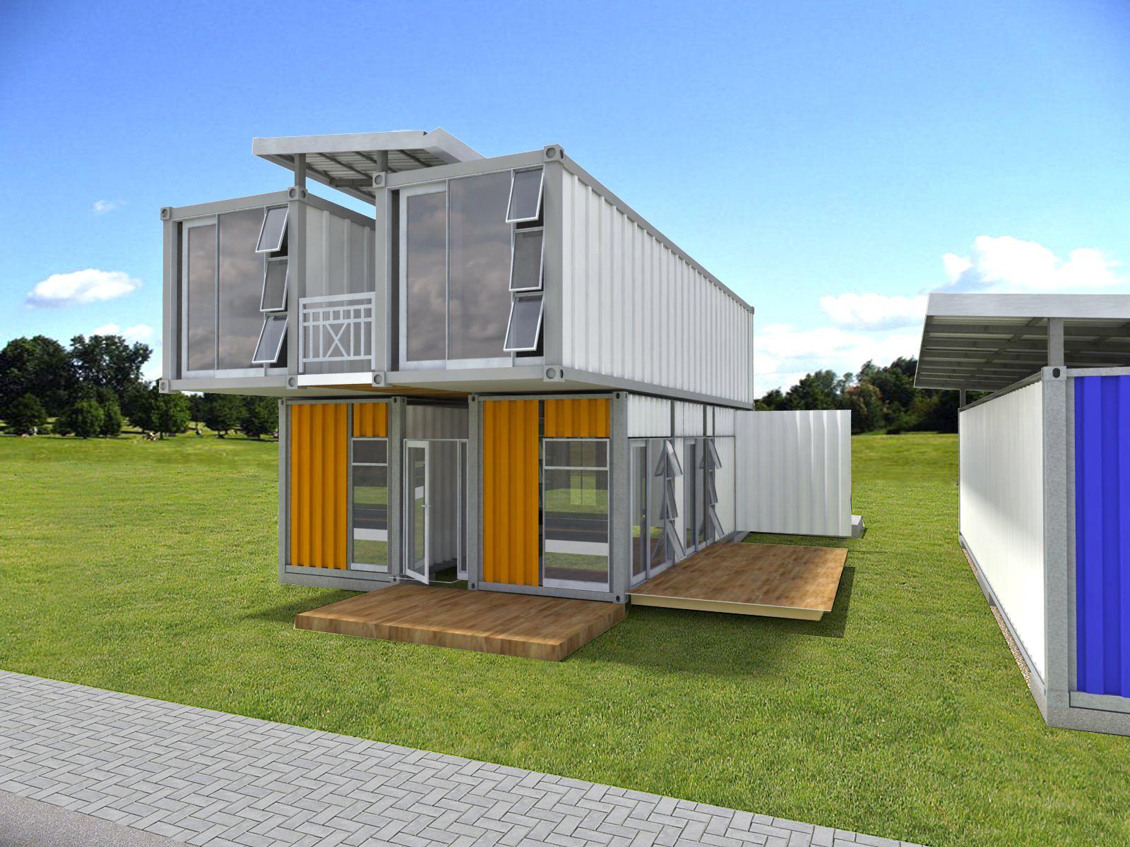 Casa container 3 modelos skyscrapercity solu es - Casa container espana ...