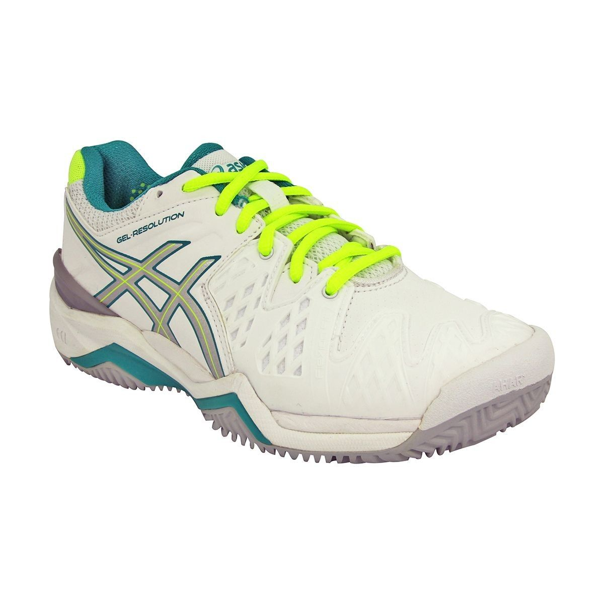 Asics GEL RESOLUTION 6 Chaussures de Tennis Femme blanc