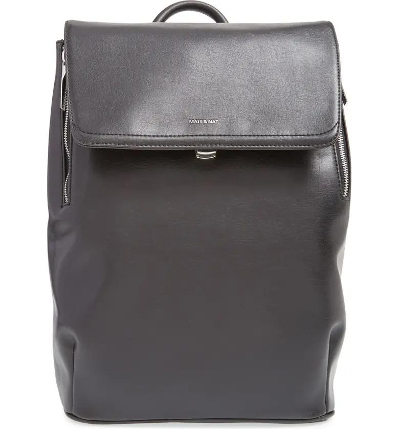 Matt & Nat 'Fabi' Faux Leather Laptop Backpack | Nordstrom