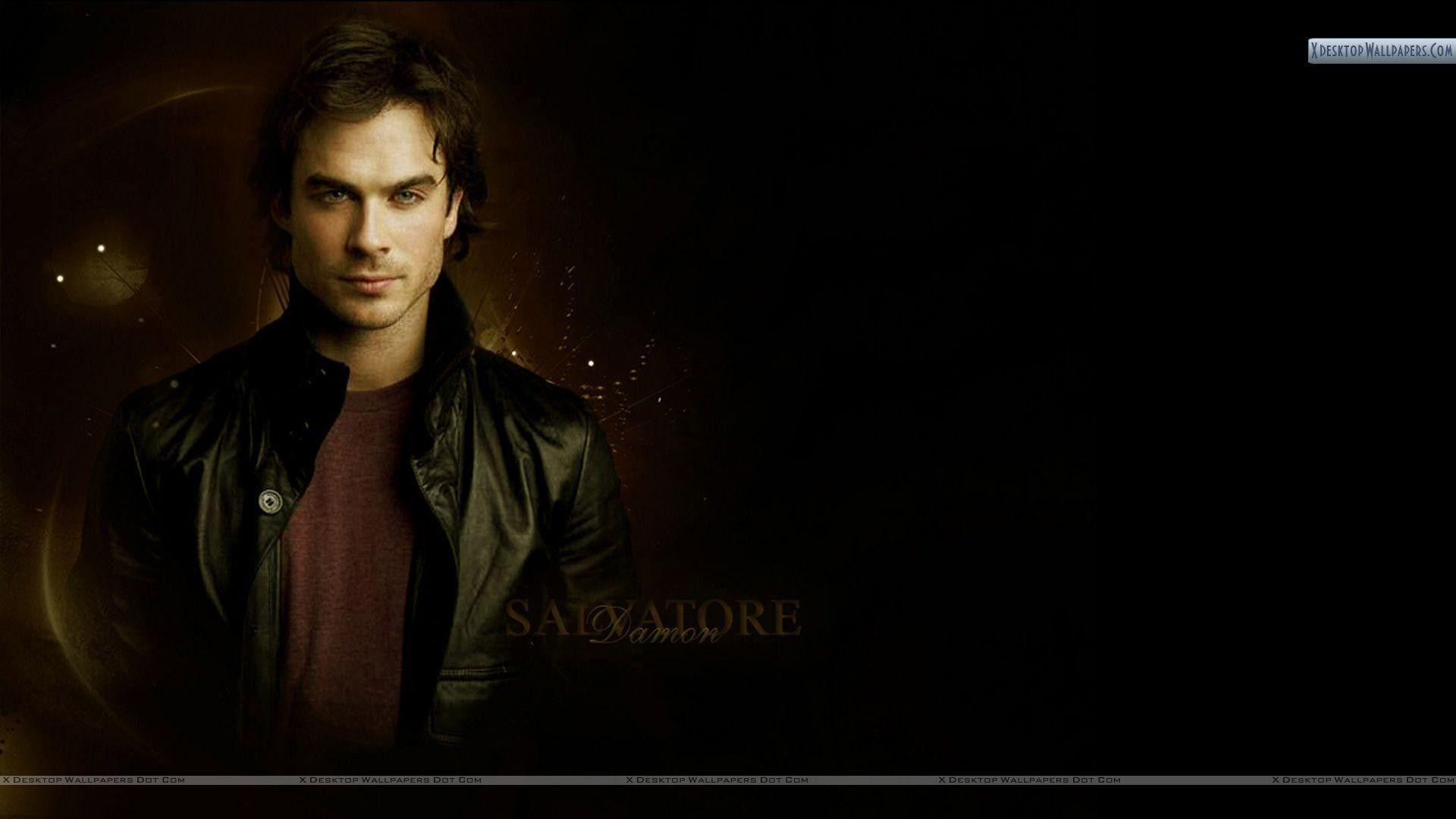 Awesome Damon Salvatore Desktop Wallpaper