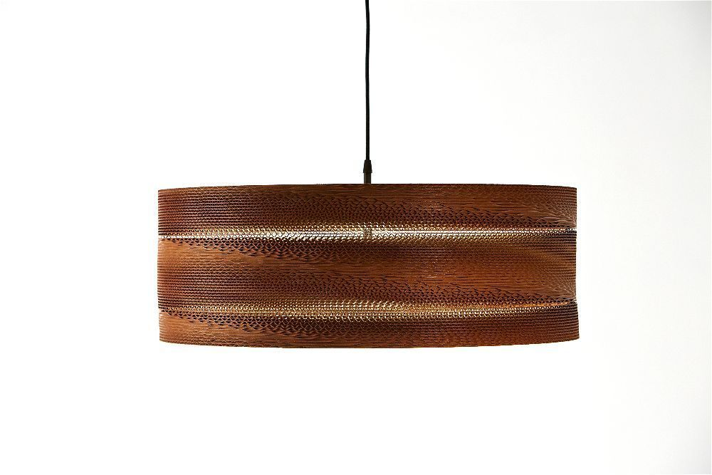 Lámpara de cartón Agarimo avellana | Lamparasdecarton.com | CoolMaison