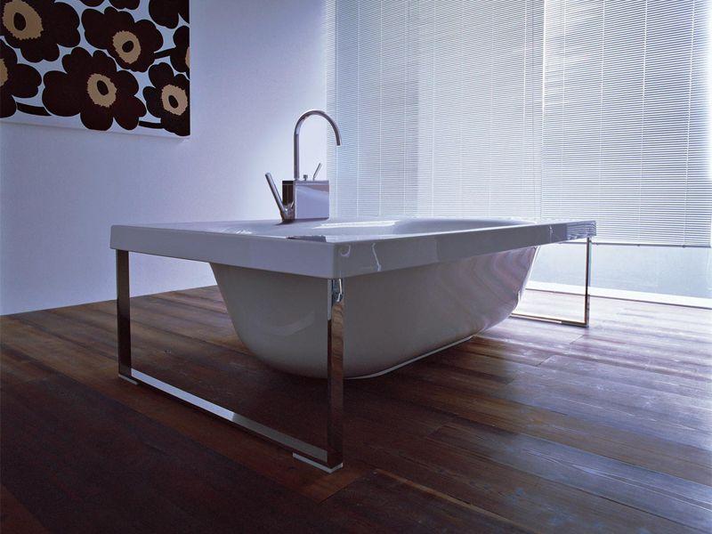 Vasca Da Bagno Zucchetti : Methacrylate bathtub kaos by kos by zucchetti design ludovica