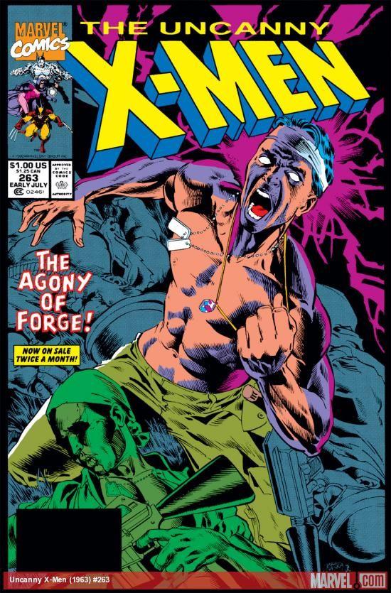 Uncanny X Men 1963 263 Comics Marvel Com The Uncanny X Men Comics