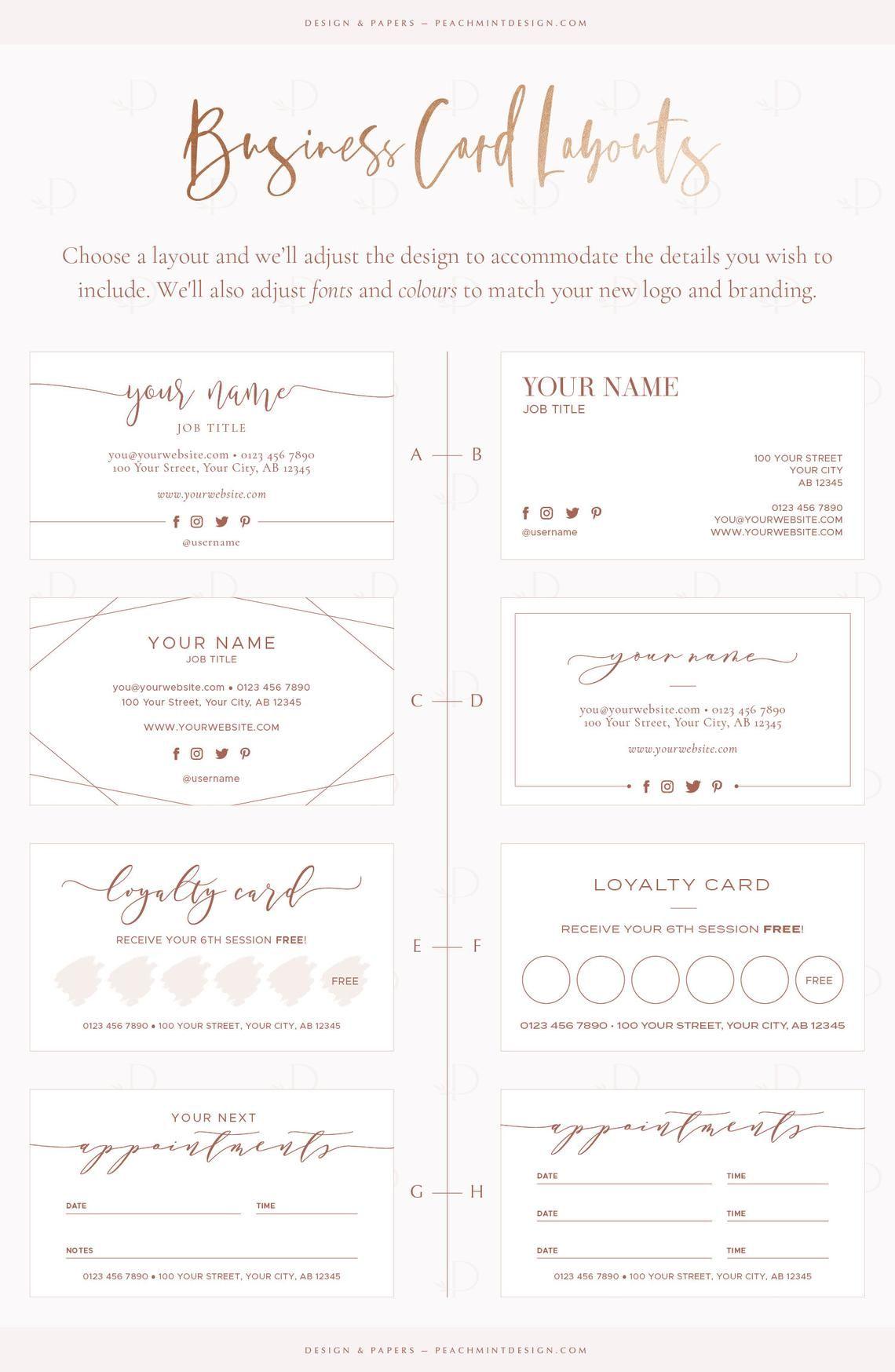 Gold Logo Design Business Branding Package Premade Logo Etsy Beauty Logo Design Business Card Branding Business Design