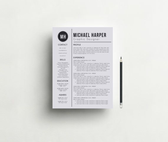 Resume Template Free Cover Letter Modern and by ResumeBook - free cover letter for resume