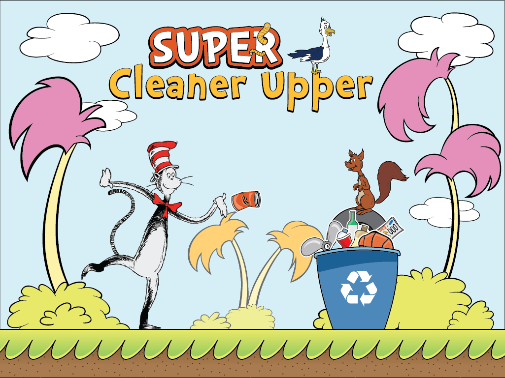The Cat In The Hat Knows A Lot About That Super Cleaner
