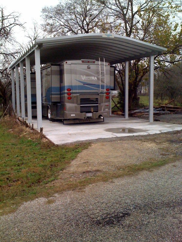 Outdoor Indoor Rv Storage Options For Winter Protection Rv Carports Metal Carport Kits Diy Shed Plans