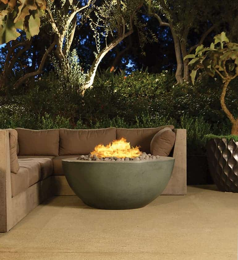 Legacy Round Fire Table By Architectural Pottery Fire Pit Party