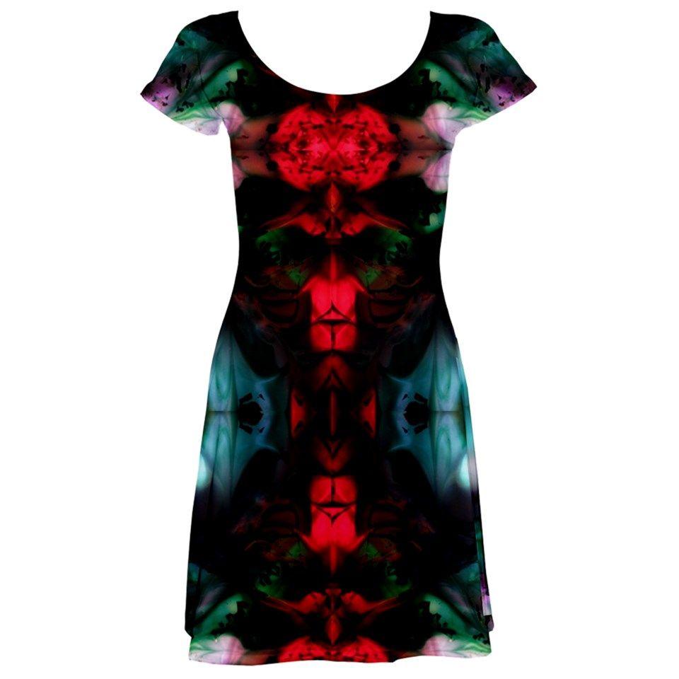 Melting of me by saprillika short sleeved skater dress dresses