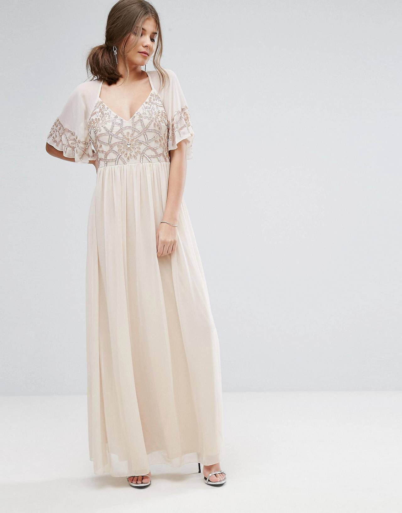Long dresses to wear to a wedding  LOVE this from ASOS  Formal dresses  Pinterest  Occasion wear