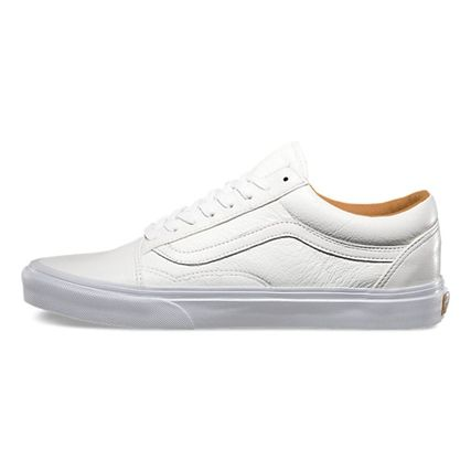 vans old skool blanche