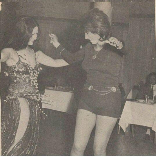 نبيله عبيد وسهير ذكى فى احد السهرات فى شيراتون القاهرة 1970 Egyptian Beauty Egyptian Actress Vintage Dance