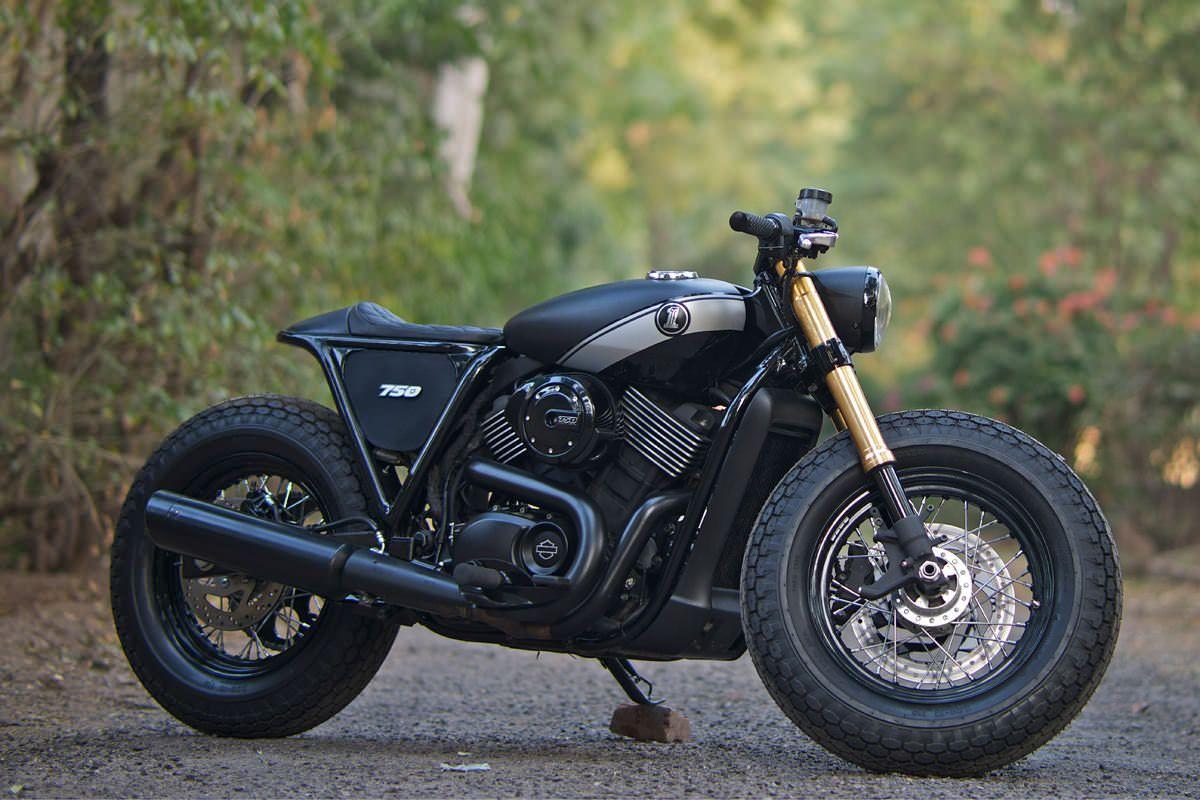 The world's first custom Harley-Davidson Street | Harley davidson ...