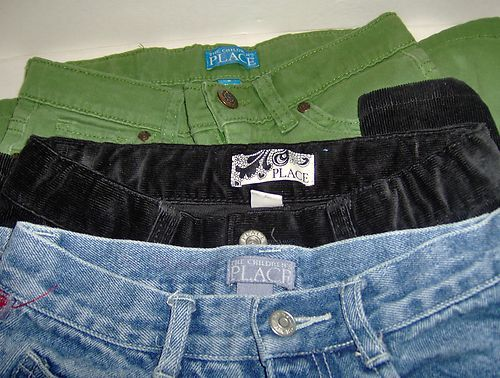 Lot of 3 The Childrens Place Pants Size 8