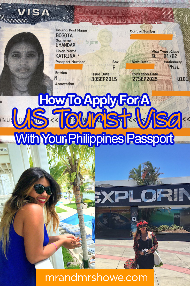 How To Apply For A US Tourist Visa With Your Philippines