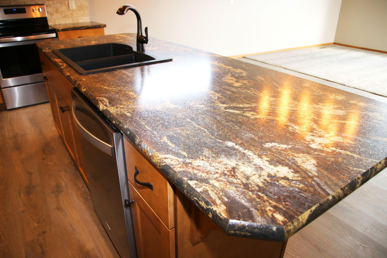 Kitchen Island Custom Homes Countertops Laminate Countertops