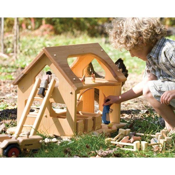 Amazing Farmyard Set Toys Wooden Toy Barn Toy Barn Wooden Toys