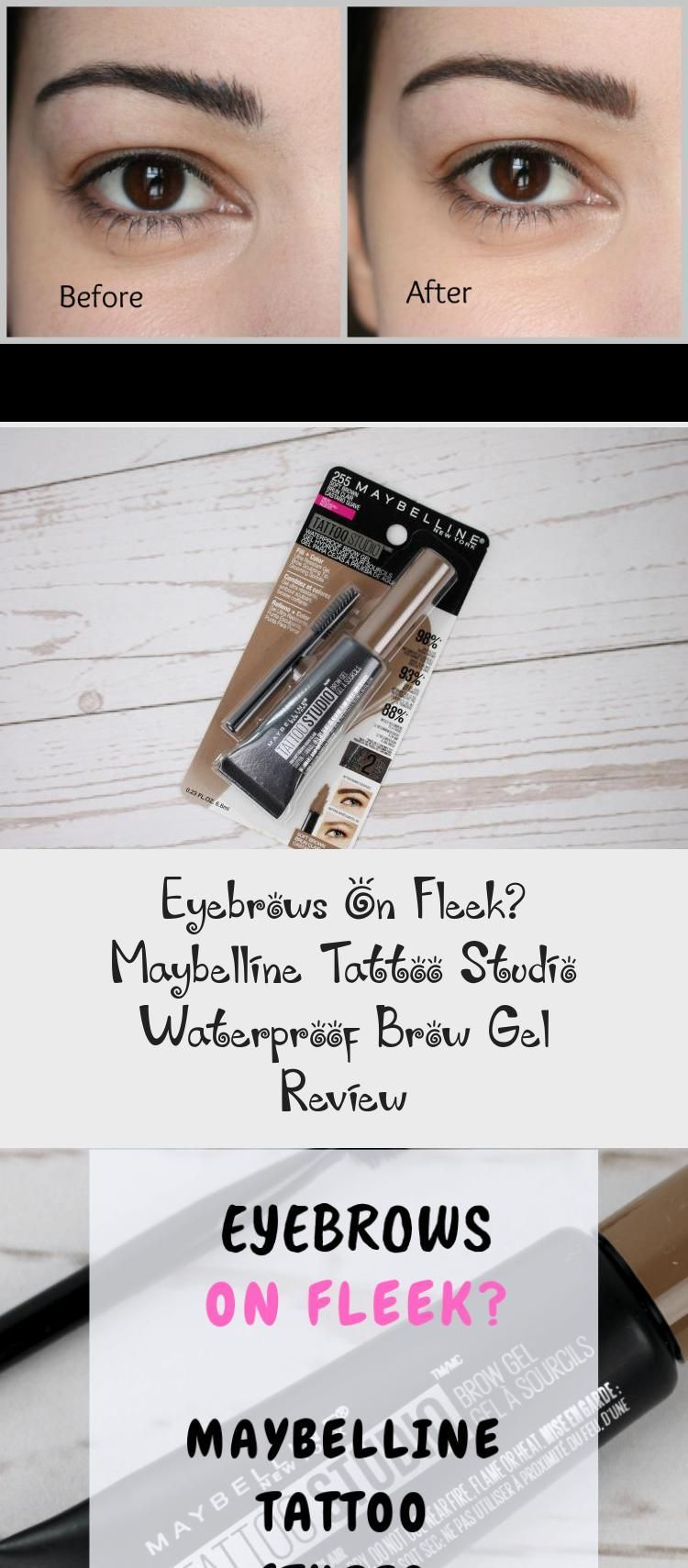 Eyebrows On Fleek? Maybelline Tattoo Studio Waterproof