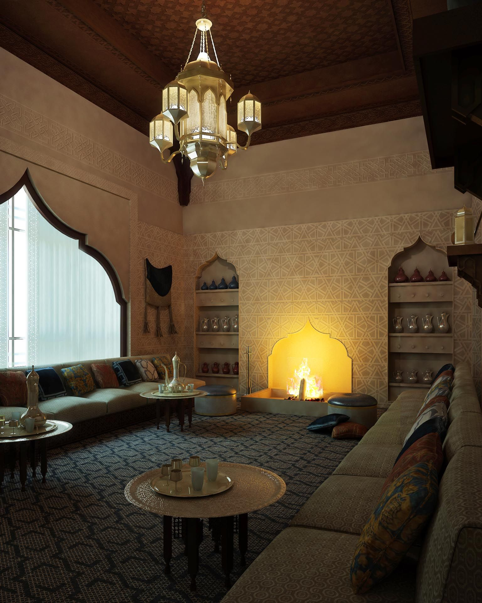 Moroccan Living Rooms Ideas Photos Decor And Inspirations: Moroccan Interiors