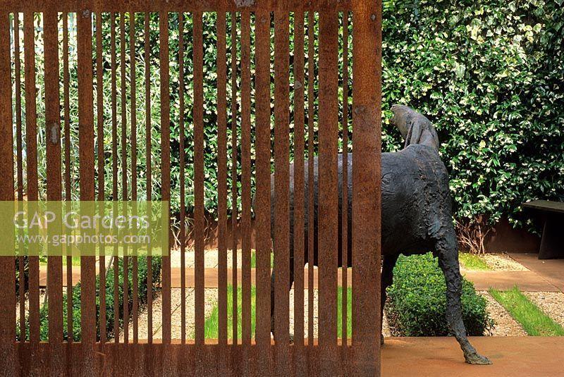 Landscape Architecture Weave Corten Gap Gardens Corten