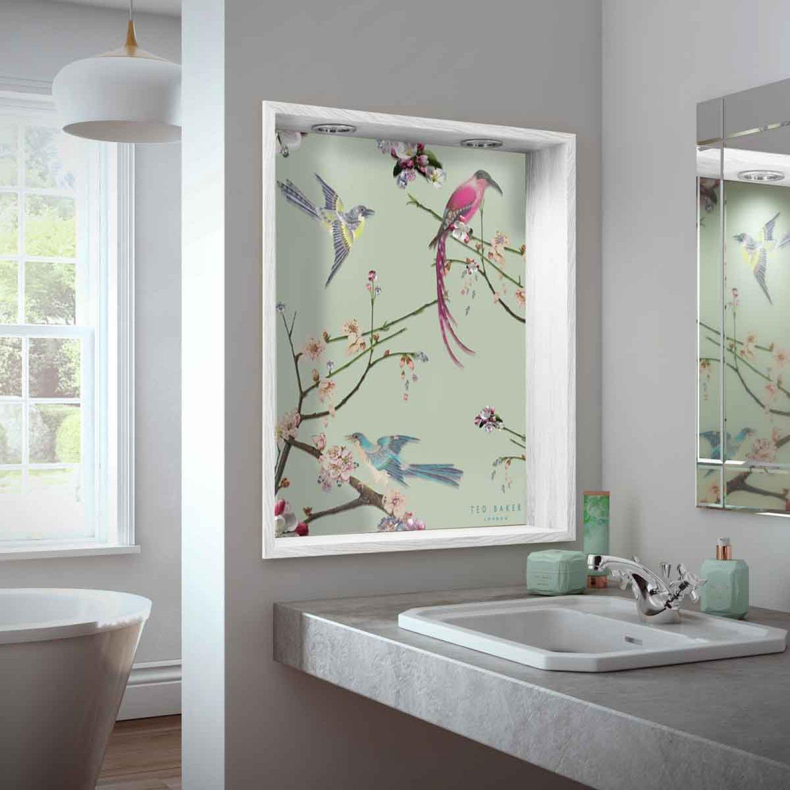 Ted Baker Splashbacks In 2020 Bathroom Interior Tiles