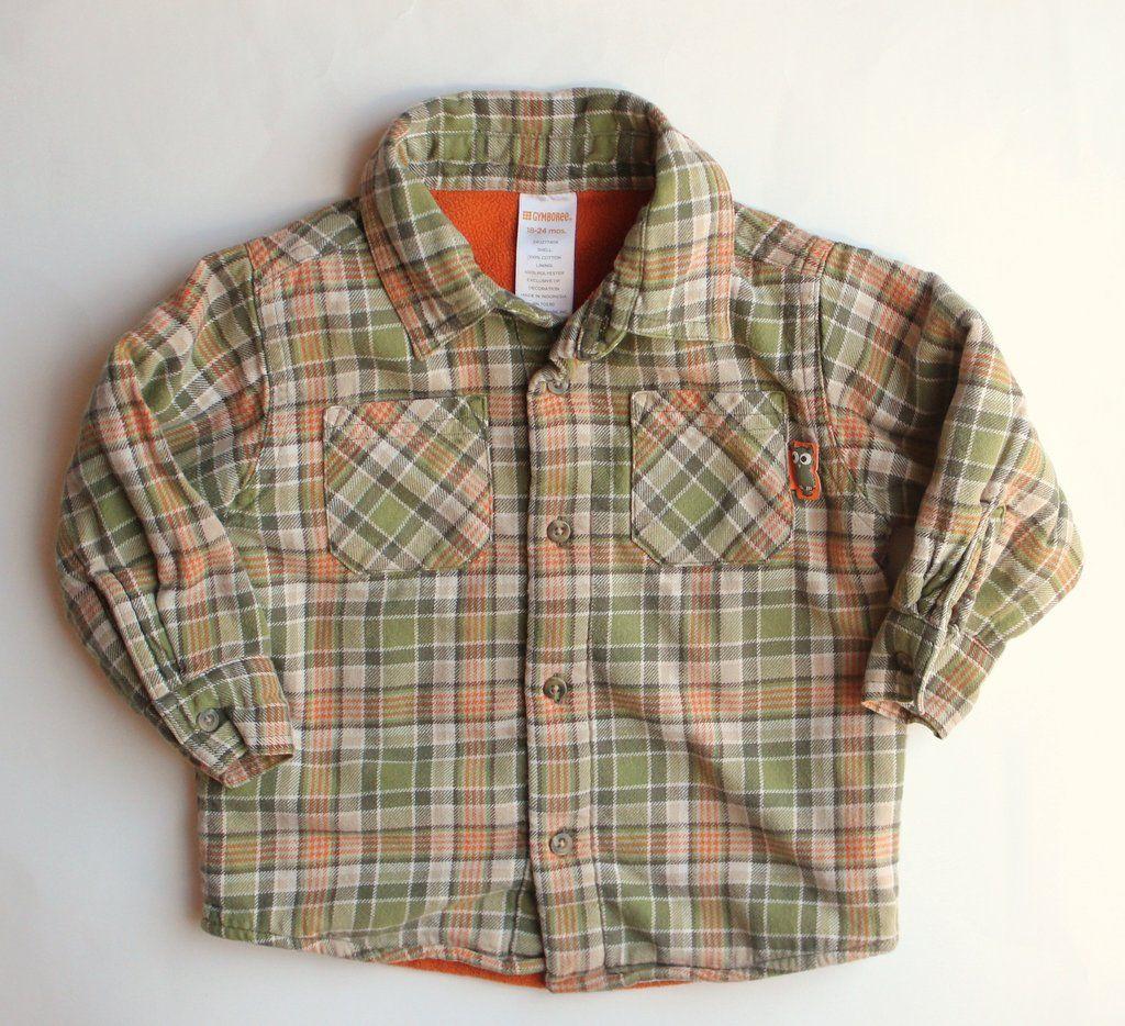 9843ca0ab Gymboree Boys Plaid Shirt Jacket