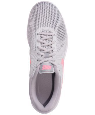 69f02b46892a Nike Women s Revolution 4 Wide Width Running Sneakers from Finish Line -  Black 12.5
