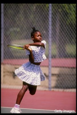 Serena Williams. The early years... #Serena #Champion #Tennis