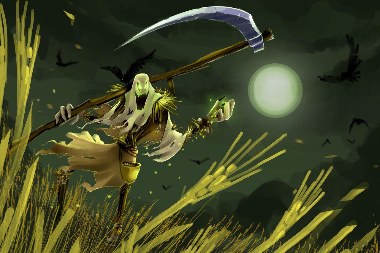 League Of Legends Fiddlesticks Moonlight Wallpaper League Of