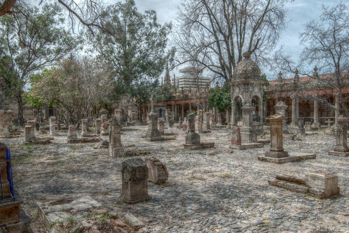 Vista del panteón de Belén en Guadalajara