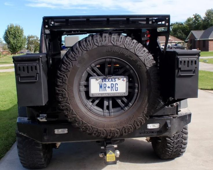 Ammo Can Secure Storage Jkowners Com Jeep Wrangler Jk Forum