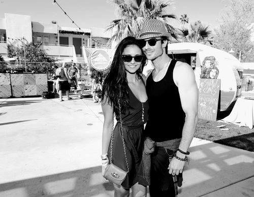 ♥ Ian Somerhalder ♥ Nina Dobrev ♥