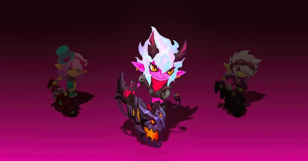 Little Demon Tristana Will Be Tristana Next Skin League Of Legends L2pbomb League Of Legends Demon Legend Tristana aram build, runes & counters. pinterest