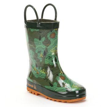 Toddler rain boots, Boys rain boots