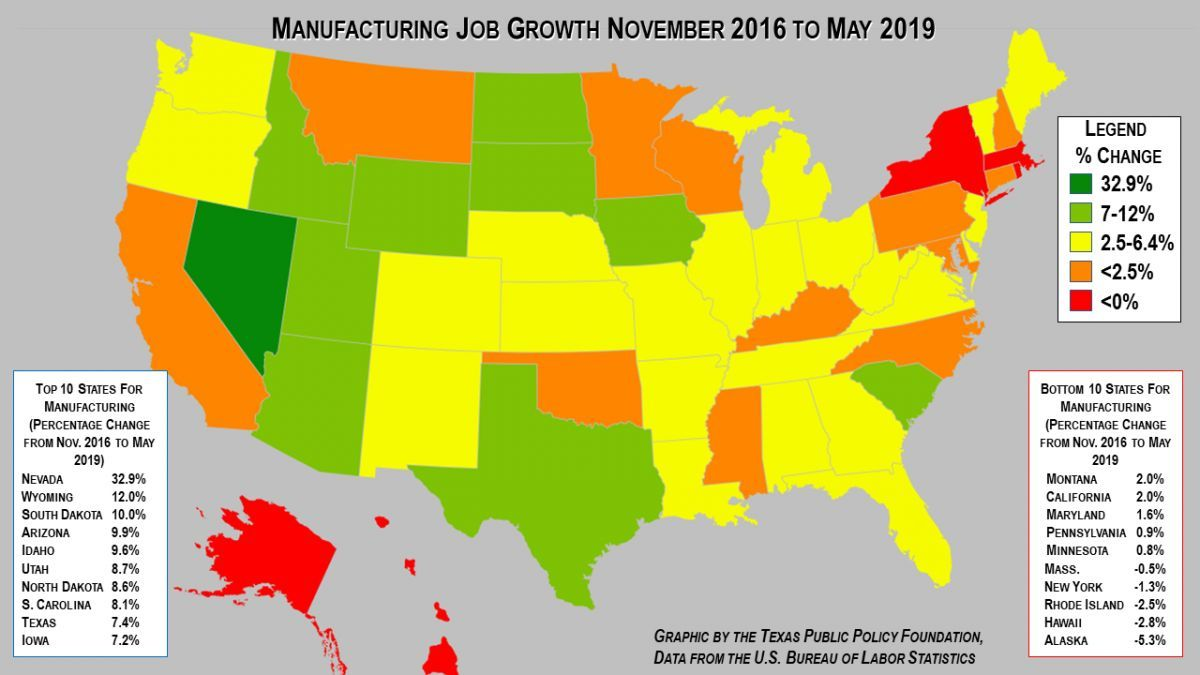 In The Last 30 Months Of President Obama S Term Manufacturing