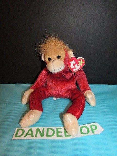 a53d3a9e831 TY Retired Beanie Baby Schweetheart 1999 Orangutan Original Ty  Ty  Beanie   schweetheart  orangutan  retired  beaniebaby  dandeepop Find me at  dandeepop.com