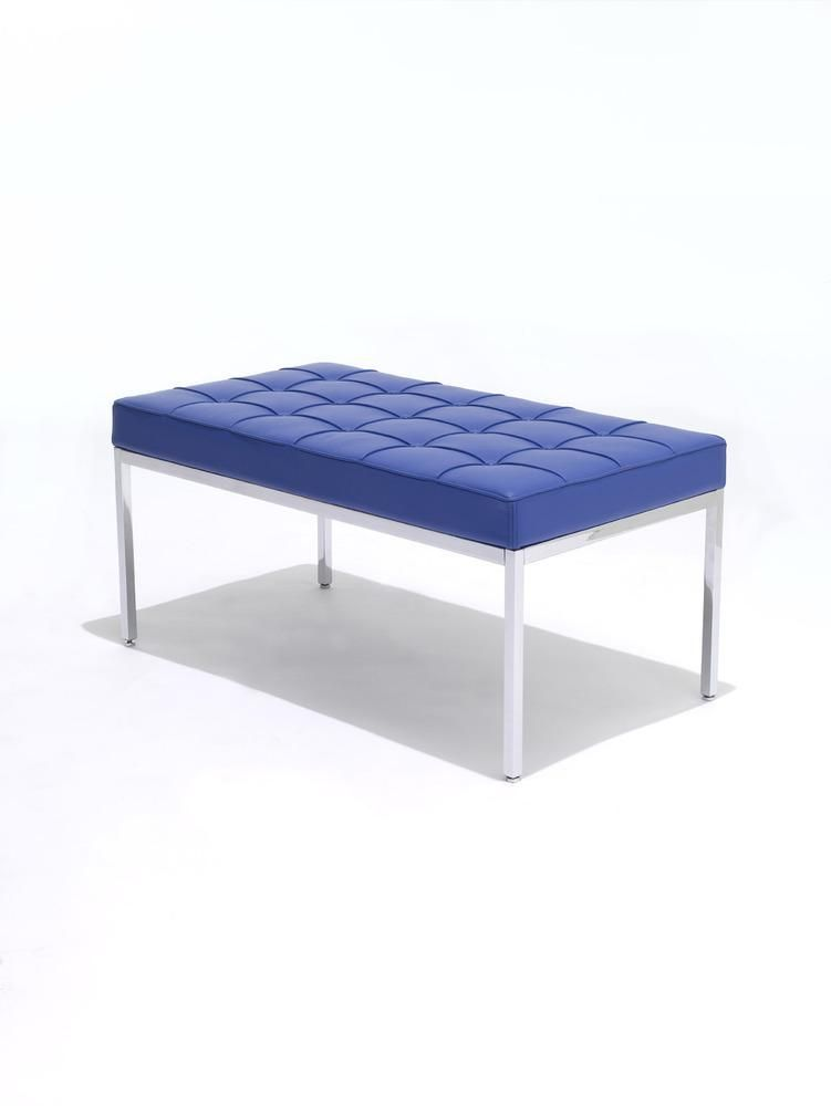 Florence Knoll Two-Seater Bench on ProjectDecor.com