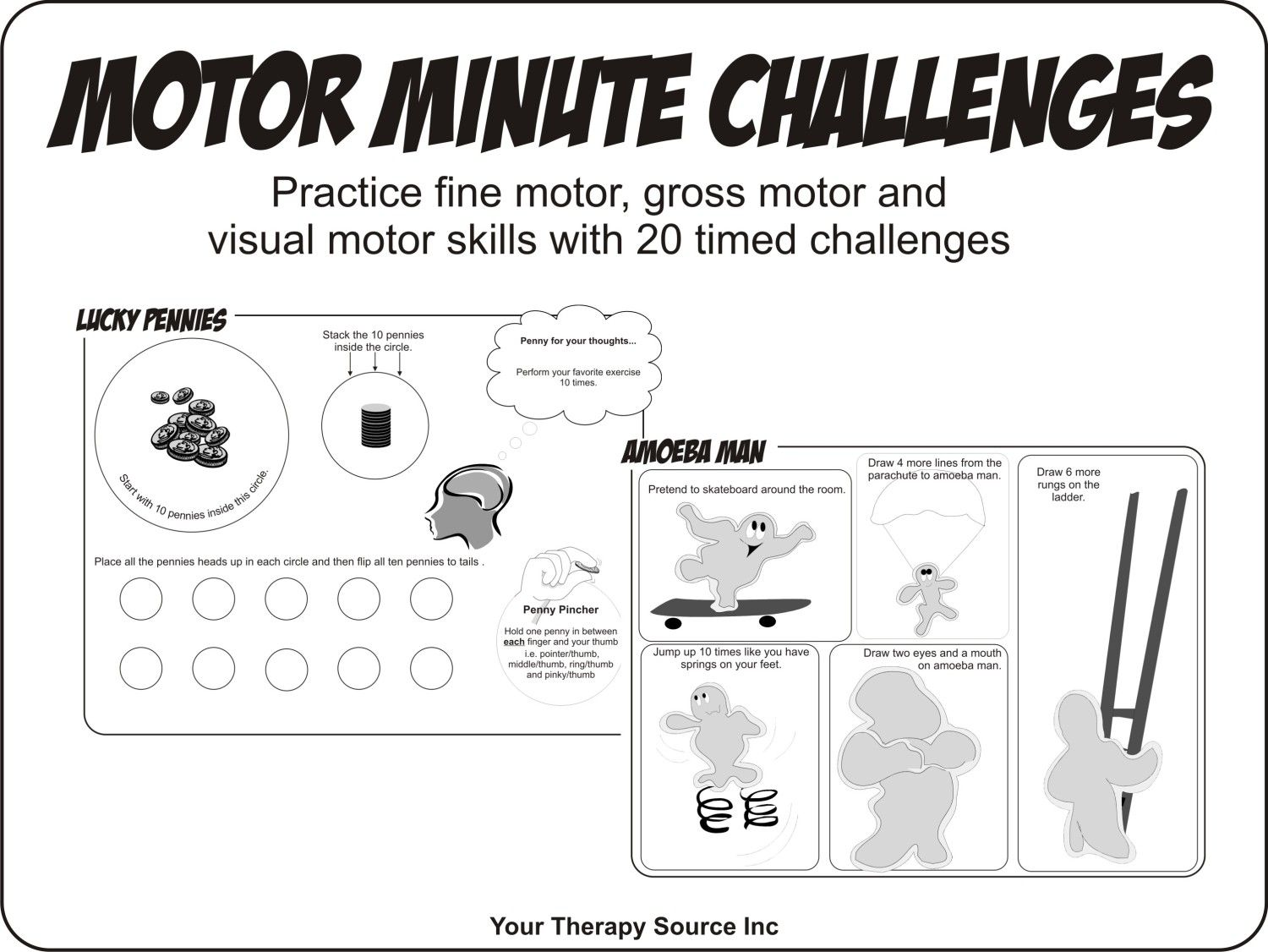 Motor Minute Challenges