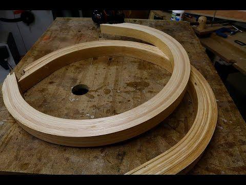 travail du bois une pi ce cintr e en lamell coll. Black Bedroom Furniture Sets. Home Design Ideas