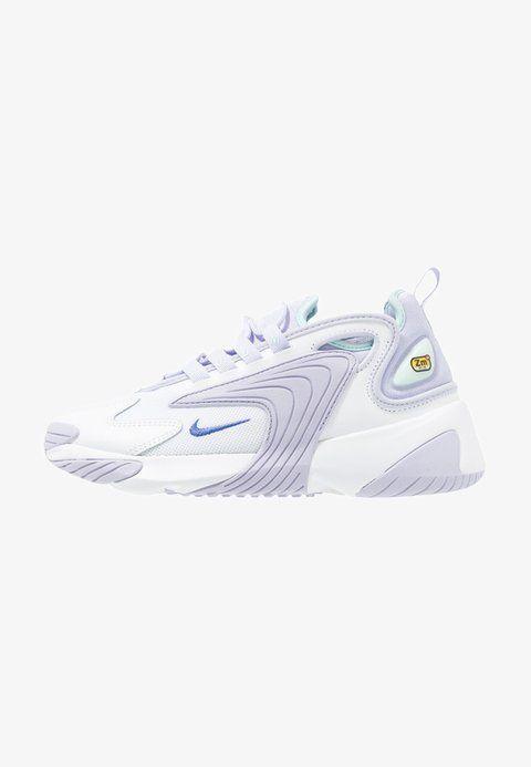 Nike Sportswear ZOOM 2K - Sneakers - white/sapphire/oxygen ...