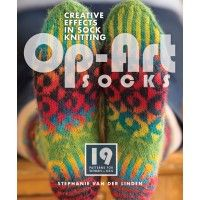 Knitted Socks with a Twist! Go beyond Sock Knitting with Op-Art Socks   InterweaveStore.com