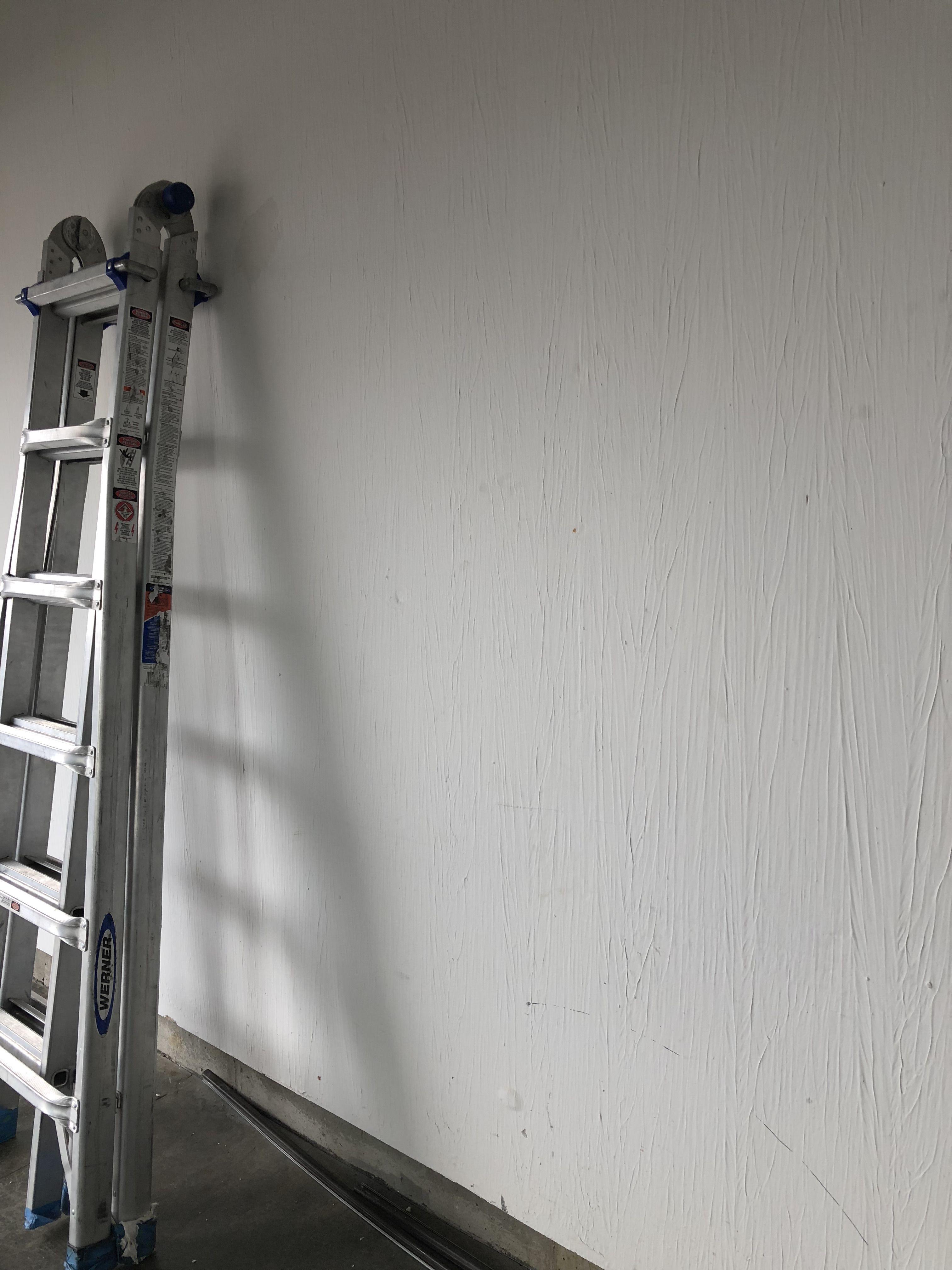 Drywall Roll And Texture Garage Walls Garage Walls Garage Wall