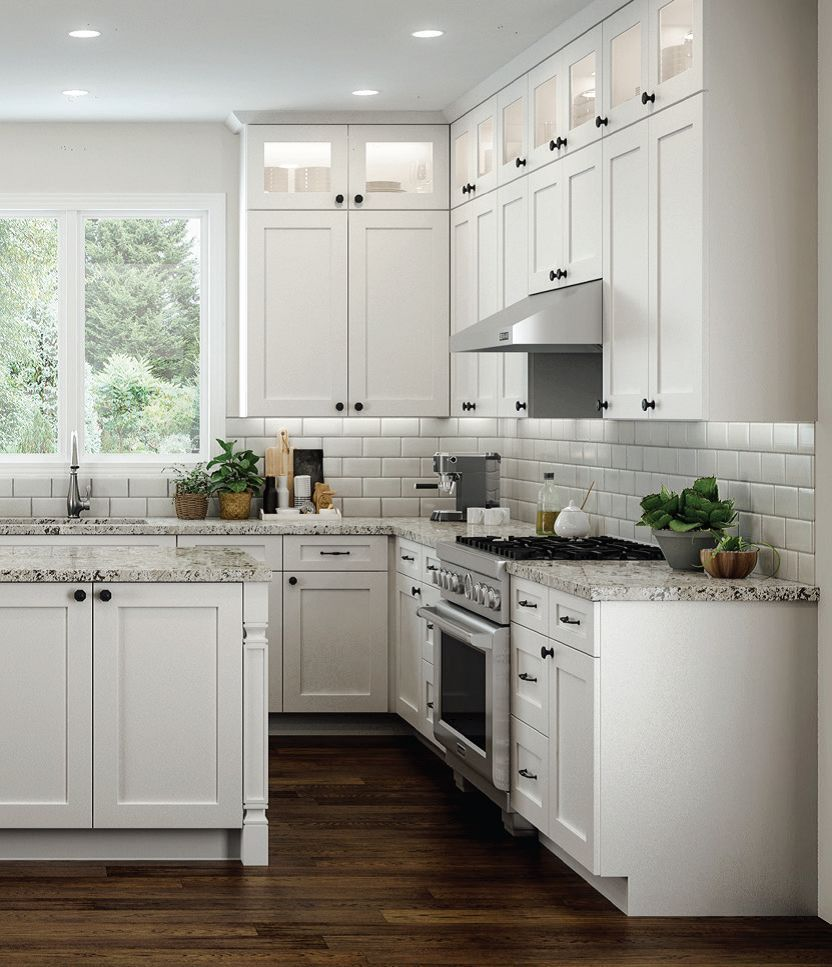 Transitional Modern Kitchen Open Plan: Details About All Wood RTA 10X10 Transitional Shaker