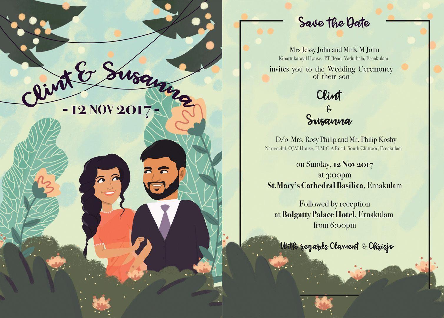Blush Wedding Invitations Mint Cheapweddinginvitations Eco Friendly Wedding Invitations Illustrated Wedding Invitations Indian Wedding Invitation Cards